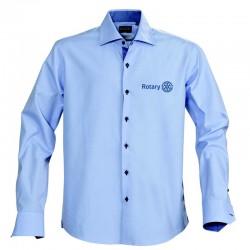 Chemise de haute qualité en coton peigné pour homme