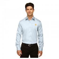 Chemise à manches longues sans repassage pour homme