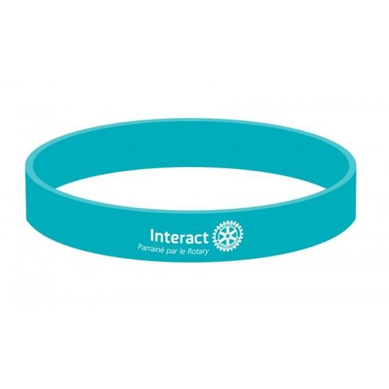 Bracelet Interact (bleu)