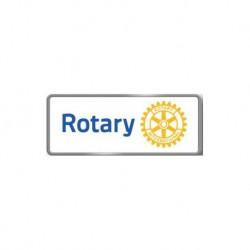 Épinglette de membre Rotary  BLANC aimant