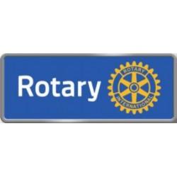 Épinglette de membre Rotary  BLEU aimant